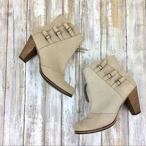 Anthro Holding Horses | Buckled Triad Booties